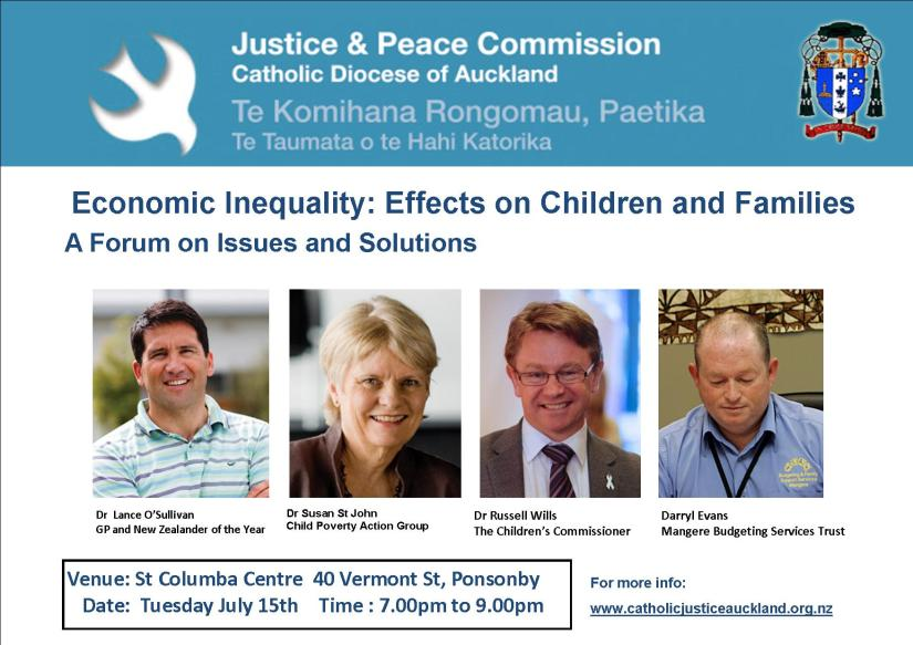 Justice and Peace Commission Forum