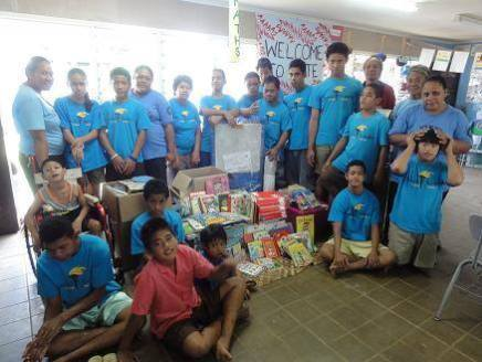 Students of Fiamalamalama receive much needed donations