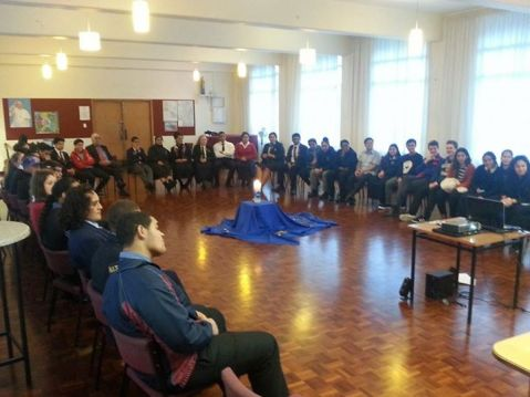Vinnies from across 13 Catholic schools in Auckland meet again for the first time this term.