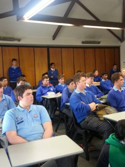 Students of Rosmini College meet weekly to learn more about social justice, and how to best support society