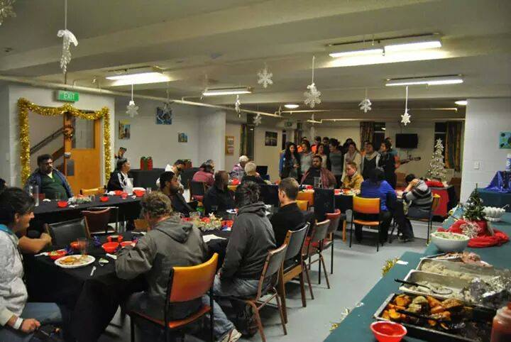 Mid Winter Christmas Dinner at James Liston Hostel