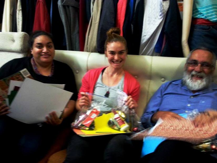 Vinnies Team facilitate a craft group session at Mt Eden Corrections Facility