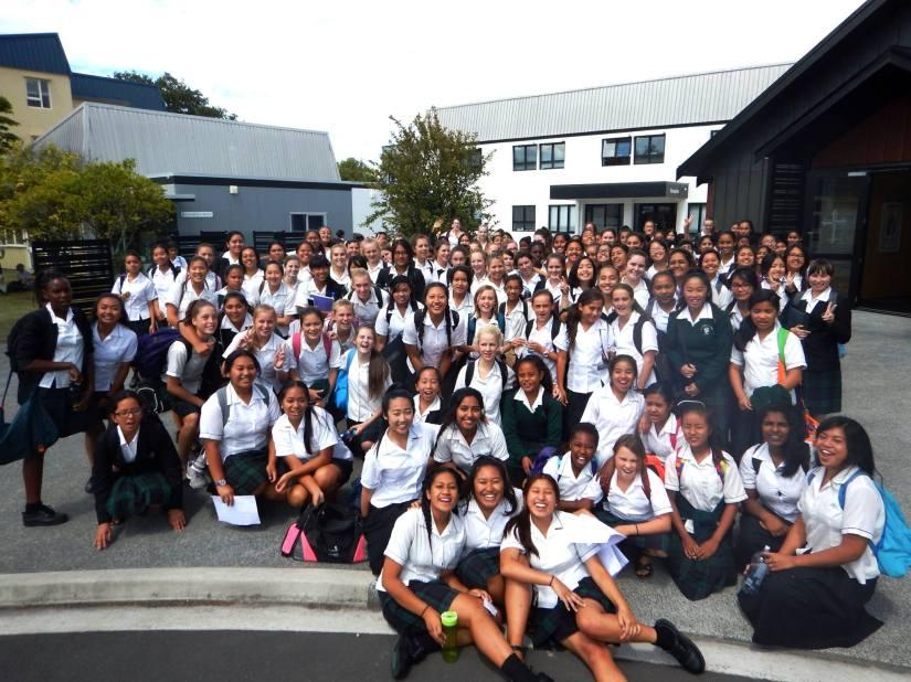 St Dominic's College Vinnies 2015