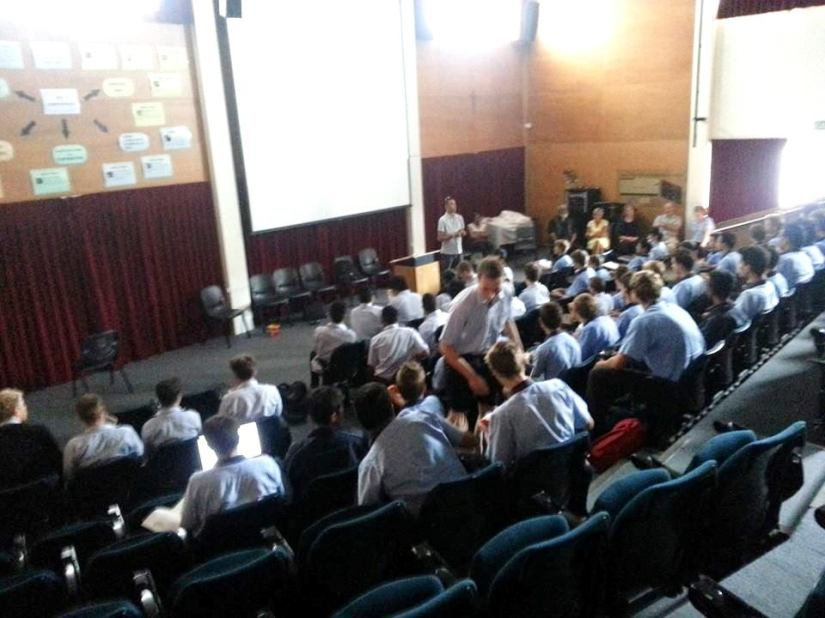 Sacred Heart College Vinnies reflect on the year ahead