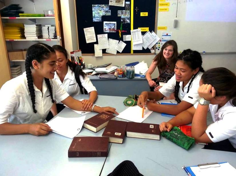 St Mary's College Vinnies Leaders meet  to discuss