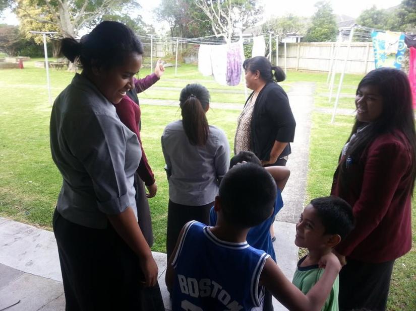 McAuley High School Vinnies facilitating an after school program