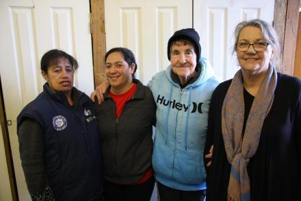 Tulua, (Left Centre) is bound for Australia for the Marist Sisters Novitiate