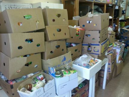 Proceeds of Food Drive
