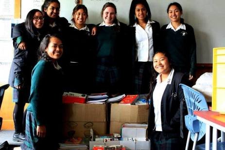 St Dominic's College launch a stationary drive in support of women in incarceration.