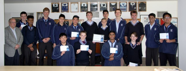 Sacred Heart College Vinnies 2015